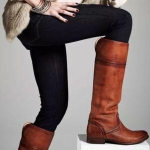 Frye Melissa Trapunto Knee High Boots
